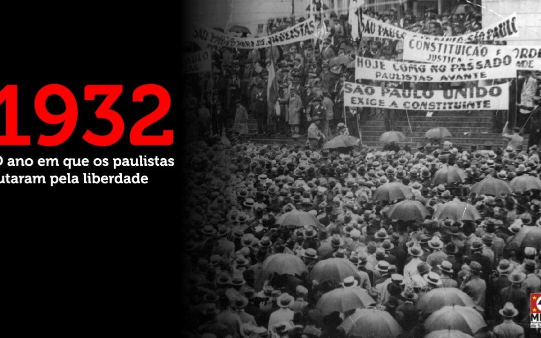 1932 - O Povo Paulista contra a tirania de Getúlio Vargas