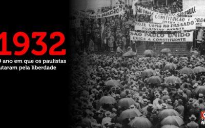 1932 – O Povo Paulista contra a tirania de Getúlio Vargas